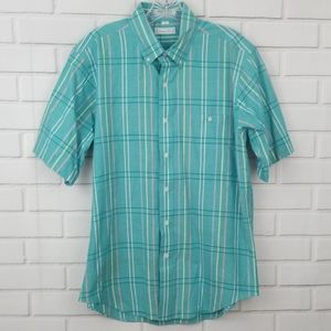 Christian Dior Short Sleeve Button Down Shirt